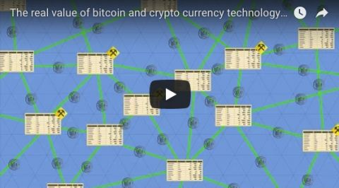The real value of bitcoin and crypto currency technology – The Blockchain explained