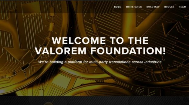 Valorem Foundation Launches All-new Cryptocurrency Platform